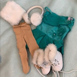 American girl doll ice skater outfit